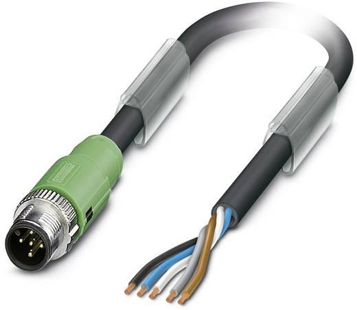 Sensor-/Aktor-Steckverbinder, konfektioniert M12 Stecker, gerade 2 m Polzahl: 5 Phoenix Contact 1518326 SAC-5P-MS/ 2,0-1
