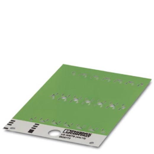 Einzeladerkennzeichner Montage-Art: einfädeln Beschriftungsfläche: 44 x 15 mm Passend für Serie Einzeldrähte Gelb Phoeni