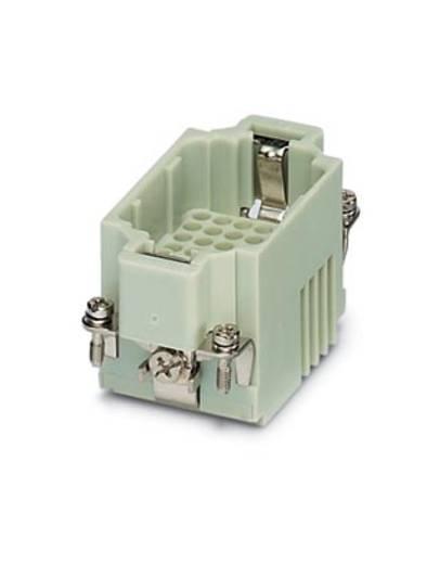 Steckereinsatz HC-K 1636318 Phoenix Contact 8 + 24 + PE Crimpen 1 St.