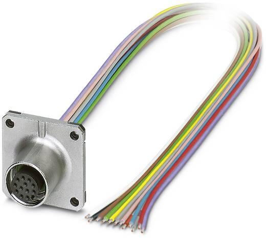 Sensor-/Aktor-Einbausteckverbinder M12 Buchse, Einbau Polzahl (RJ): 12 Phoenix Contact 1441590 SACC-SQ-M12FS-12CON-25F/