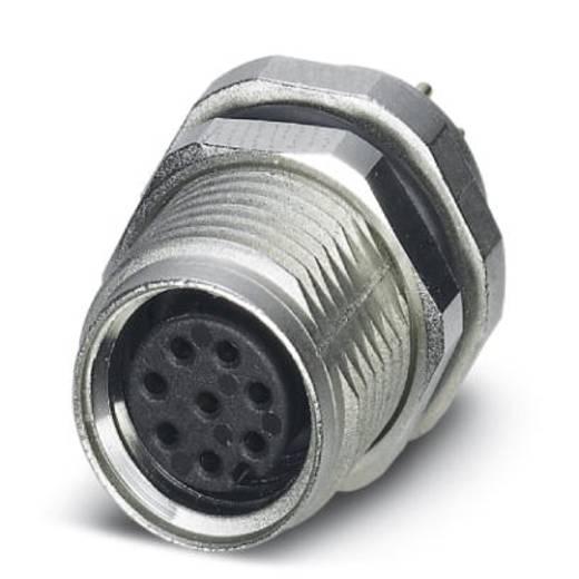 Sensor-/Aktor-Einbausteckverbinder M8 Buchse, Einbau Polzahl (RJ): 8 Phoenix Contact 1424237 SACC-DSI-M8FS-8CON-M10-L18