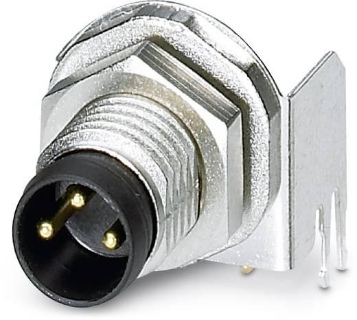 Sensor-/Aktor-Einbausteckverbinder M8 Stecker, Einbau Polzahl (RJ): 3 Phoenix Contact 1456035 SACC-DSI-M 8MS-3CON-L90 S