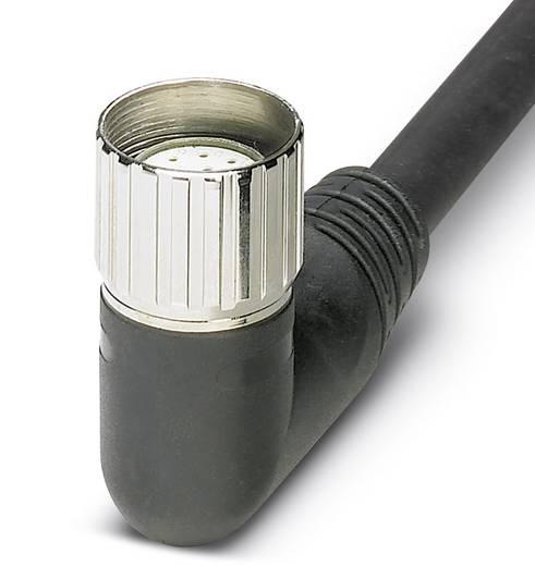 Sensor-/Aktor-Anschlussleitung M12 Buchse, gewinkelt 10 m Polzahl: 12 Phoenix Contact 1684043 RCK-TWUM/BL12/10,0PUR-U 1
