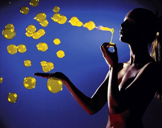 Seifenblasenfluid UV-Seifenblasenfluid Gelb 1 l