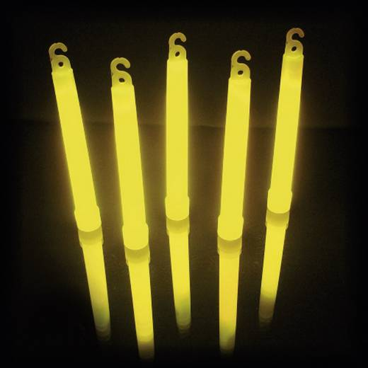 Leuchtstab Gelb 15 cm Knick Light