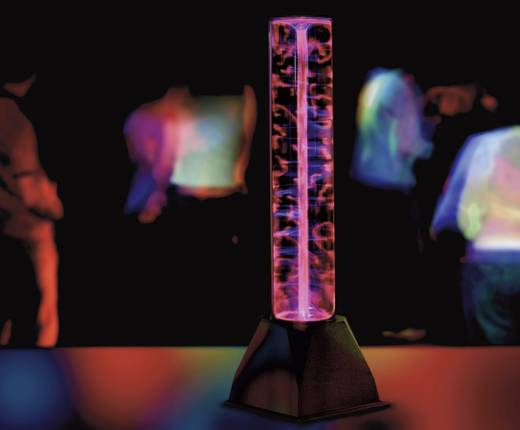 Plasma Party-Lichteffekt Magic Plasma Röhre Pink Anzahl Leuchtmittel: 1