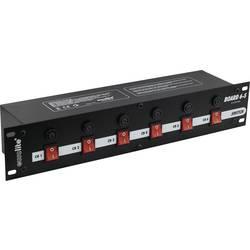 """Panel racku 48,3 cm (19"""") Eurolite Board se 6 ochrannými kontakty"""