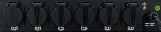 "19 Zoll Stromverteiler 6fach 48,3 cm (19"")-Board 2 HE"