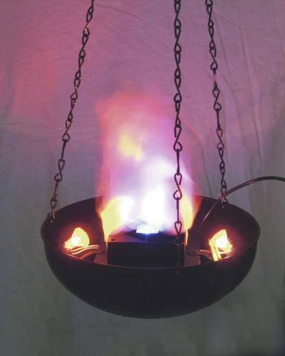 Dekoleuchte Eurolite Flame Light FL-300 Schwarz