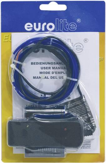 Leuchtschnur 3 V Blau 2 m Eurolite Elektro-Luminiszenz