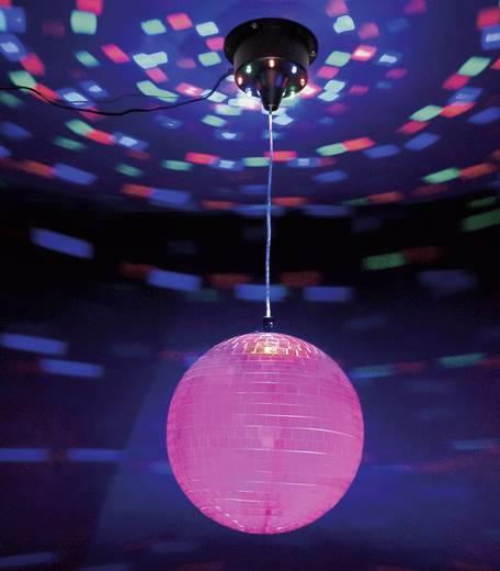 LED Discokugel-Set mit Motor, mit LED-Beleuchtung 20 cm MA-9