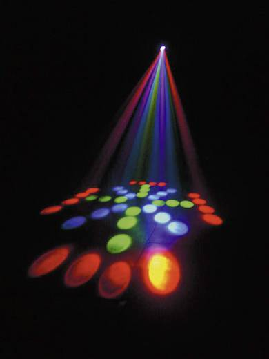 DMX LED-Effektstrahler FutureLight DJ-Scan 100 Anzahl LEDs:40 x