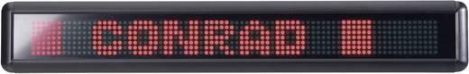 LED-Laufschrift mit Fernbedienung Rot