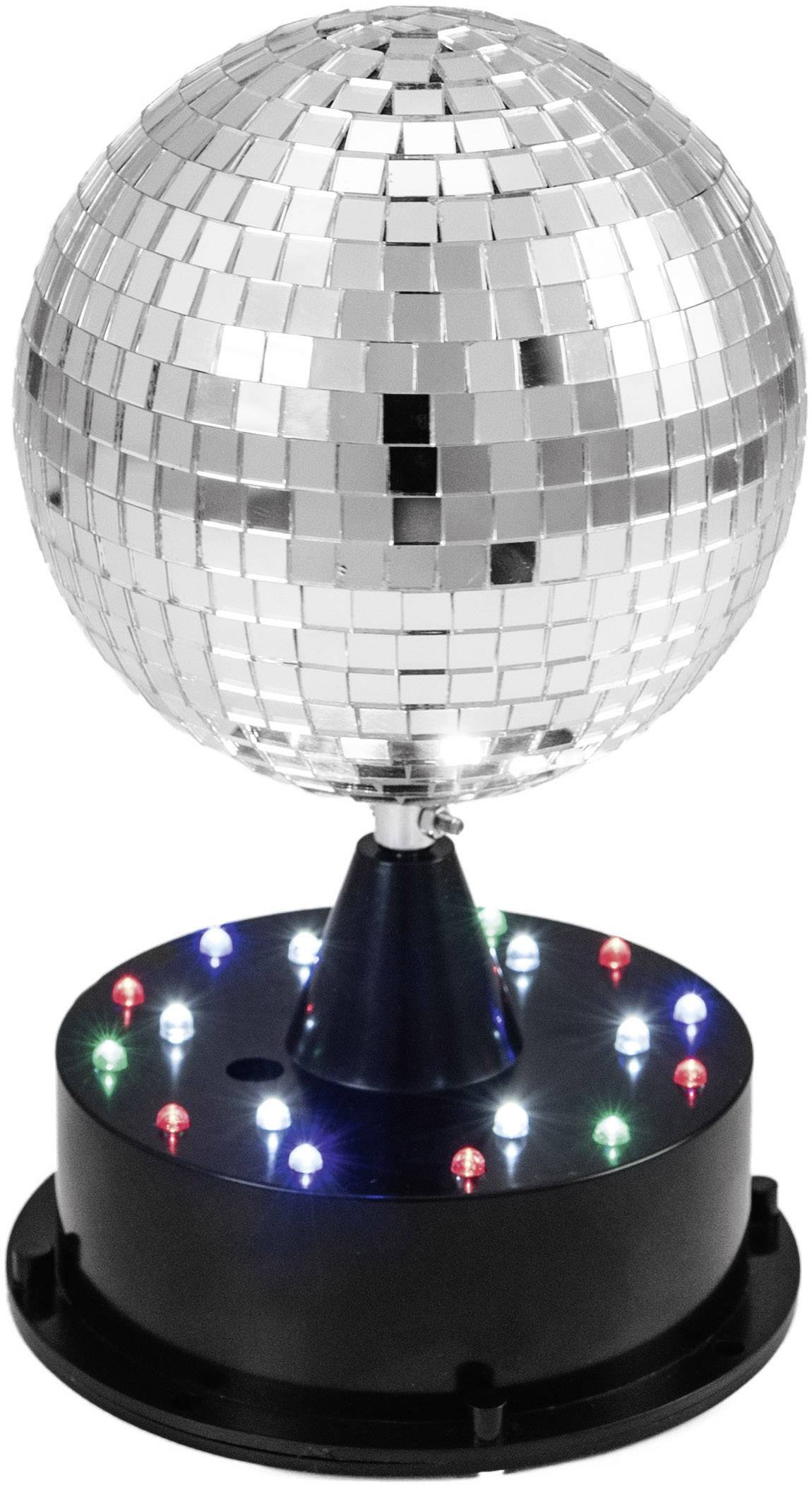 Eurolite 42109267 Led Discokugel Set Mit Standfuss Mit Led Beleuchtung 13 Cm