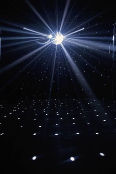 Pinspot LED ADJ LED-Pinspot Numero di LED: 1 x 3 W Nero