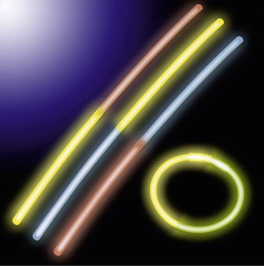 Neon-Knick-Leuchtsticks 10er Set Multi-Color