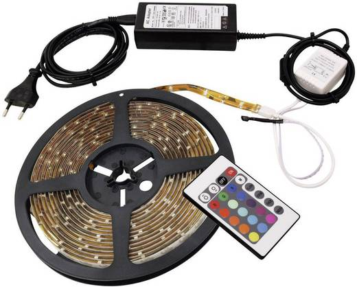 eurolite smd5050 led streifen led strip rgb led 5 m. Black Bedroom Furniture Sets. Home Design Ideas