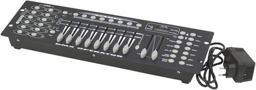 DMX Controller Eurolite DMX Operator 192 16-Kanal 19 Zoll-Bauform, Musiksteuerung