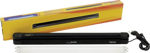 UV-Röhren Set Eurolite 45 cm Slim UV & weiss Leuchtstoffröhre 15 W