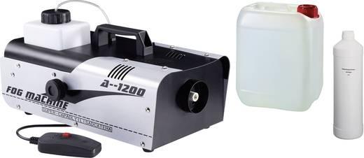 Nebelmaschine Nevelmachine + 5 l vloeistof + reiniger inkl. Kabelfernbedienung