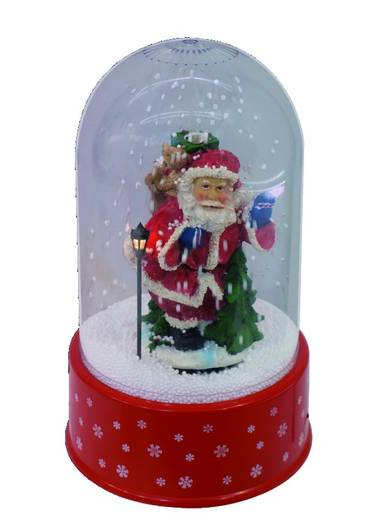 Schneegestöber, Santa Claus