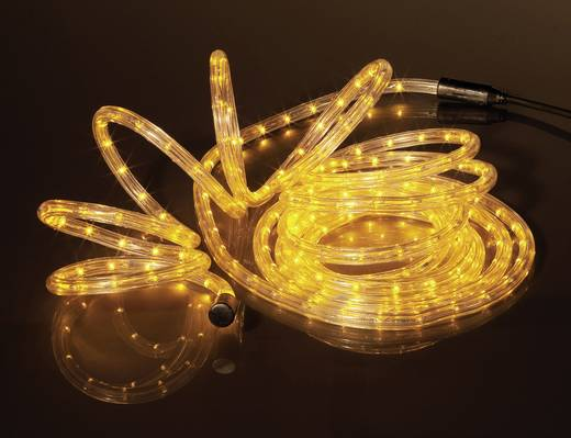 Basetech LED Lichtschlauch 6 m Gelb