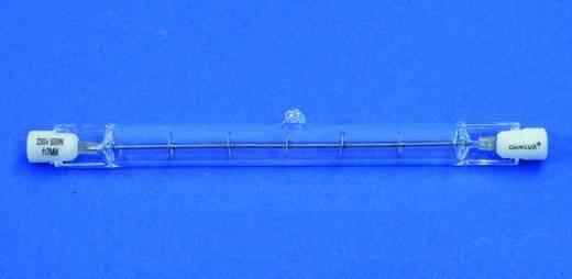 Halogen Lichteffekt Leuchtmittel Omnilux 91100500 230 V R7s 800 W Weiß