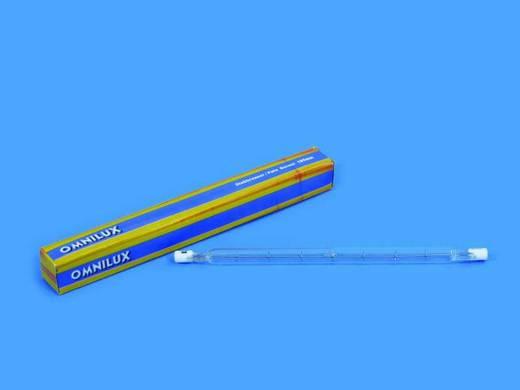Halogen Lichteffekt Leuchtmittel Omnilux Stabbrenner 230 V R7s 750 W Weiß