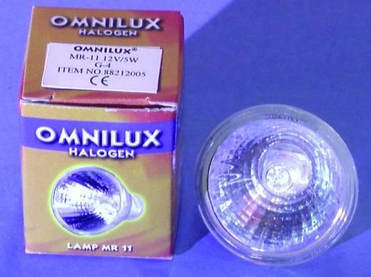 Halogen Lichteffekt Leuchtmittel Omnilux 88212005 12 V G4 5 W Weiß