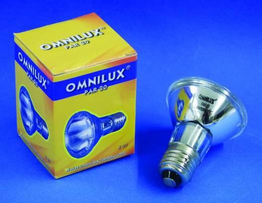 Halogen Lichteffekt Leuchtmittel Omnilux 88021015 230 V E27 50 W Weiß dimmbar