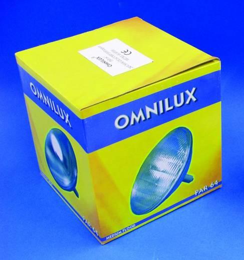 Halogen Lichteffekt Leuchtmittel Omnilux Par-64 Lampe (Tungsten) 230 V GX16d 500 W Weiß dimmbar