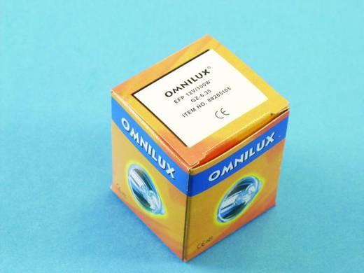 Halogen Lichteffekt Leuchtmittel Omnilux 88285105 12 V GZ6.35 100 W Weiß