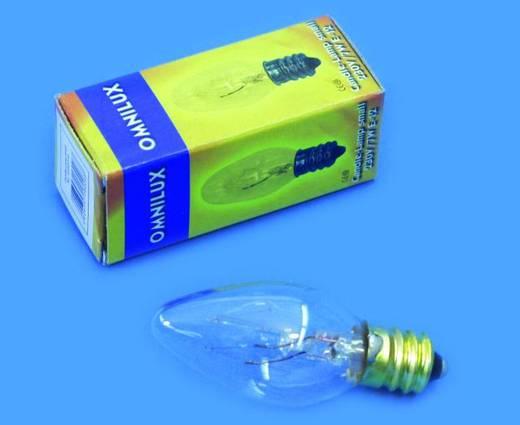 Halogen Lichteffekt Leuchtmittel Omnilux Kerzenlampe klein 230 V E12 9 W Weiß