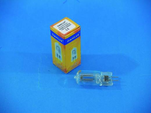 Halogen Lichteffekt Leuchtmittel Omnilux 88298007 230 V GX6.35 1000 W Weiß