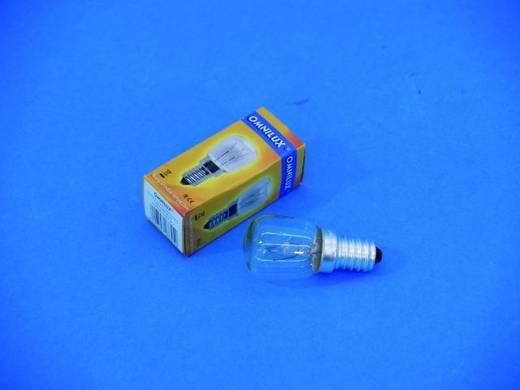 Halogen Lichteffekt Leuchtmittel Omnilux Schaustellerlampe 230 V E14 25 W Weiß