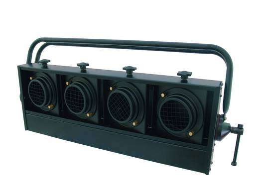 Halogen-Blinder Eurolite Audience Blinder 4 x PAR-36 horizontal schwarz
