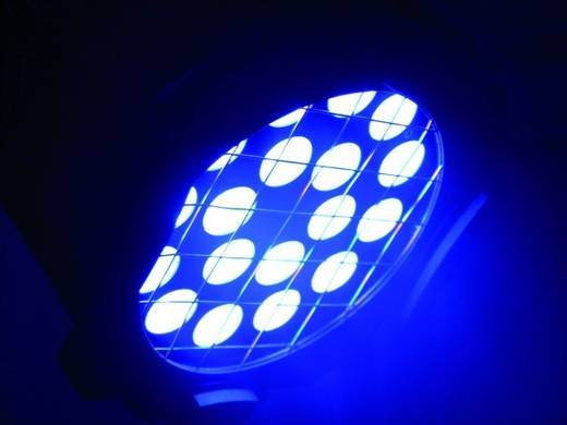 LED-PAR-Scheinwerfer Eurolite LED ML-56 TCL Anzahl LEDs: 18 x 3 W Silber