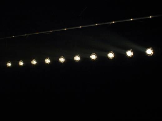LED-Bar Eurolite LED STP-10 3200 K Anzahl LEDs: 10 x 3 W