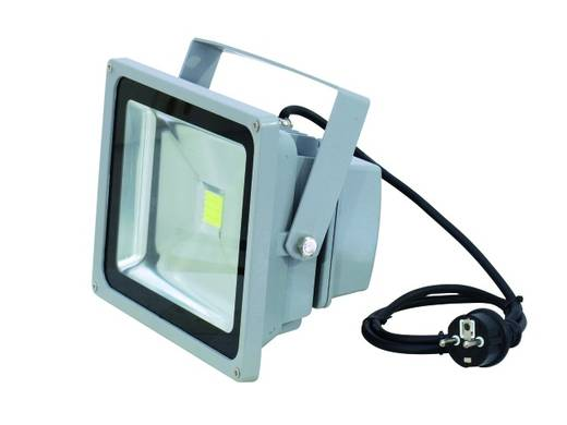 Outdoor LED-Spot Eurolite LED IP FL-30 Anzahl LEDs: 1 x 36 W Silber