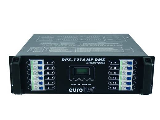 DMX Dimmer Eurolite DPX-1216 S MP 12-Kanal