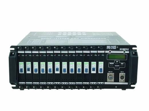 DMX Dimmer Eurolite DPMX-1216 CEE 12-Kanal 19 Zoll-Bauform