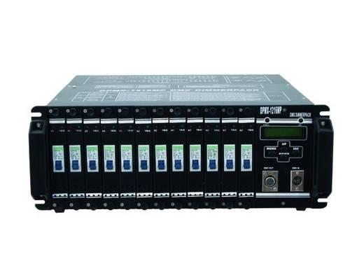 DMX Dimmer Eurolite DPMX-1216 MP 12-Kanal 19 Zoll-Bauform