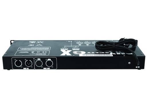 DMX Splitter Eurolite DMX Split 6X 6-Kanal 19 Zoll-Bauform