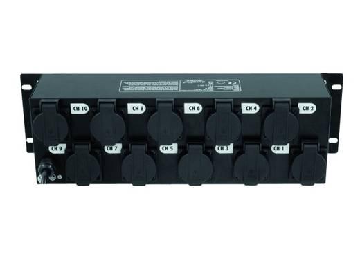 19 Zoll Stromverteiler Eurolite Board 10-ST 10x Schutzkontakt 3 HE