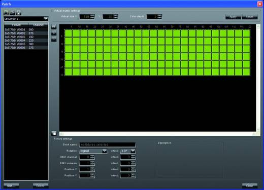 DMX Software Madrix DVI Start