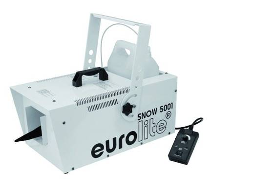 Schneemaschine Eurolite Snow 5001 inkl. Befestigungsbügel, inkl. Kabelfernbedienung