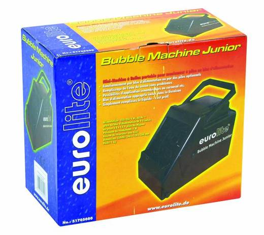 Seifenblasenmaschine Eurolite Junior inkl. Kabelfernbedienung, inkl. Befestigungsbügel