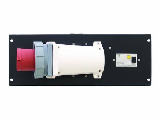 19 Zoll Stromverteiler 1fach Eurolite PDM 4U 63A / 5 pins RCD 4 HE