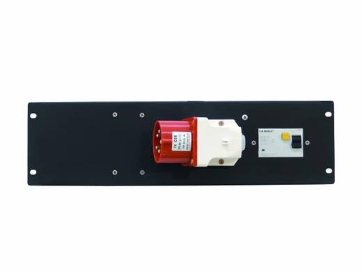 19 Zoll Stromverteiler 1fach Eurolite PDM 3U-32A / 5 pins RCD 3 HE