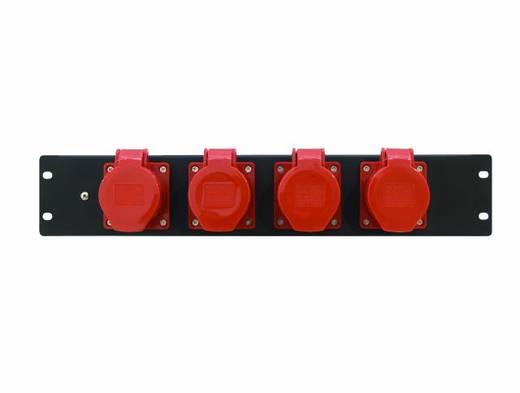 19 Zoll Stromverteiler 4fach Eurolite PDM 3U 4CEE 16A / 5 pins 3 HE